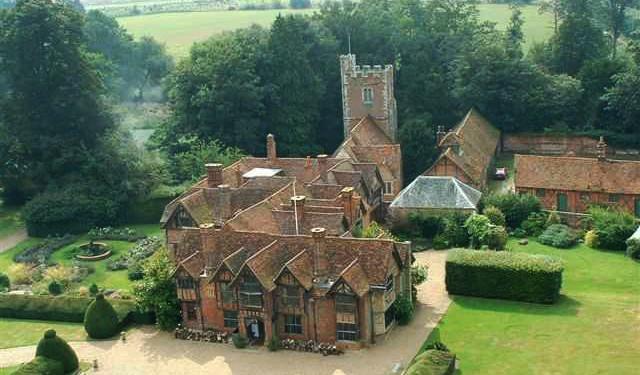 Aerial Photograph of Dorney