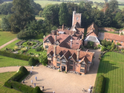 Dorney Court Aerial Photo