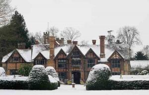 Dorney in snow