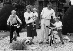 Peregrine Palmer Family