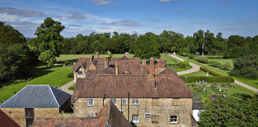 Dorney Court Aerial
