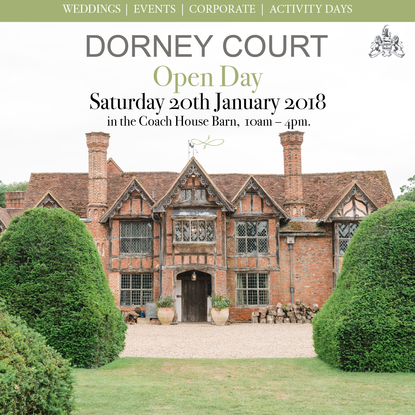 Dorney Court Open Day Welcome To Dorney Court